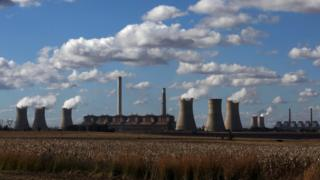 An Eskom-operated coal-fired power plant in Mpumalanga province