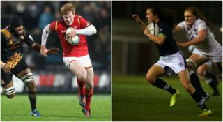 Rhys Patchell (L) Rhys Patchell (R)