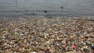 sampah, lautan