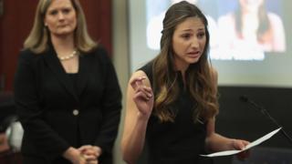 카일 스티븐스는 래리 나사르에게 여섯 살에서 열두 살까지 성추행당했다고 증언했다
