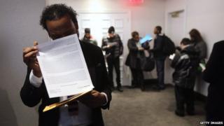 Job seekers in US