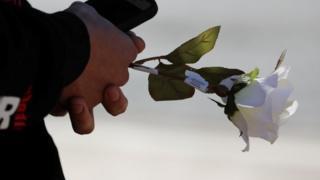 Роза в память о погибших