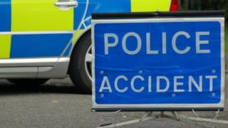 Police 'accident' sign