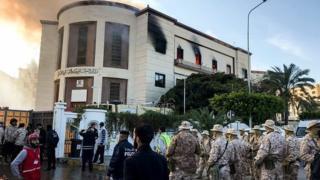 Libya'da Dışişleri Bakanlığı