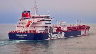 navio Stena Impero