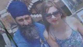 Sukhjit Singh and his wife Ramandeep Kaur Mann