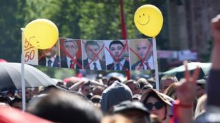 Демонстрация в Армении