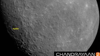 चांद्रयान-2ने पाठवला चंद्राचा पहिला फोटो