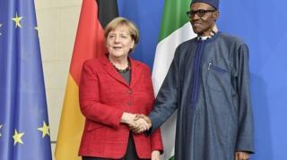 Angela Markel da Buhari