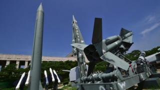 Макеты ракет