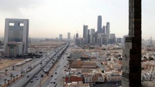 Səudiyyə Ərəbistanı - paytaxt Riyadda binalar, 1 mart 2017