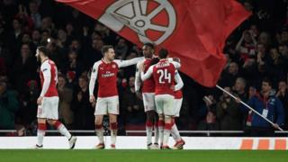 Awọn ikọ Arsenal n dunnu