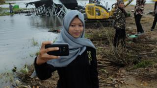 Endonezya selfie