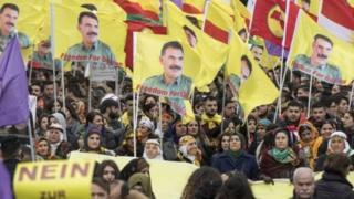 Ubudagi bwankiye abashigikiye leta ya Turkiya kuhakorera imyiyerekano