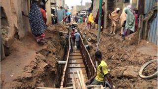 Aikin magudanar ruwa a birnin Kano Nigeria