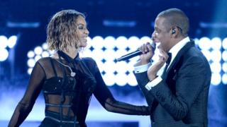 Beyonce and Jay Z on tour