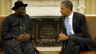 Obama da Jonathan