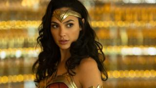 Gal Gadot as Wonder Woman in the forthcoming film