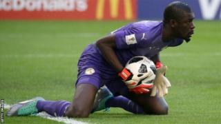Khadim Ndiaye a joué les trois matchs du Sénégal lors de la Coupe du monde 2018.