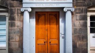 Масонская ложа в Эдинбурге