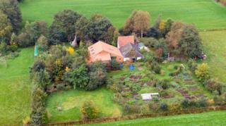 Ферма, где проживала семья