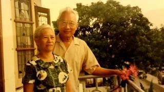 Siauw Giok Tjhan dan istri Tan Gien Hwa,