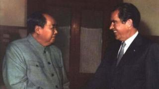 1972年尼克松访华产生了深远的影响,