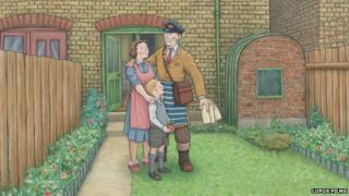 A scene from the TV adaptation of Ethel and Ernest