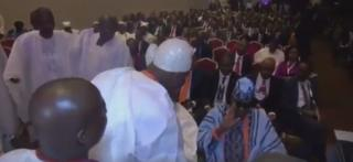 The Ooni of Ife 'snubbed by the Oba of Lagos