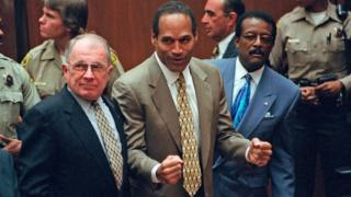 In 1995, Simpson was found not guilty of killing his ex-wife and her friend