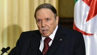 Cezayir Devlet Başkanı Abdulaziz Buteflika