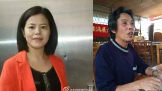 苏昌兰(左)和陈启棠案拖延已久(图片来源:刘晓原律师微博)