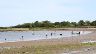 Ballyholme Beach in north Down
