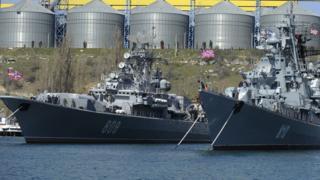 Russian warships in Sevastopol, 31 Mar 14 pic