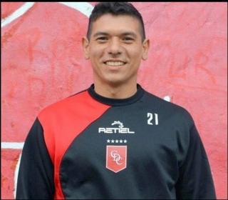 Diego Ayala jugador de fútbol.