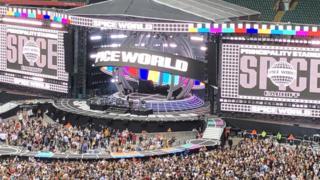 Spice Girls stage