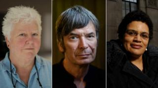 Val McDermid, Ian Rankin and Jackie Kay