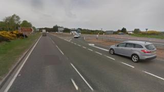 Munlochy B9161 junction