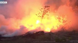 """""""Пожежі в Амазонії - це міжнародна криза"""", - каже президент Франції Еммануель Макрон."""