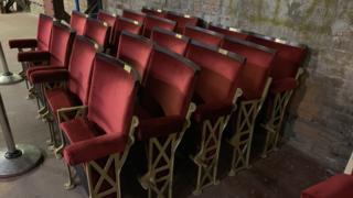 Morecambe Winter Gardens seats
