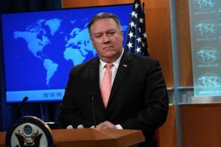 مایک پومپئو، وزیر امور خارجه آمریکا