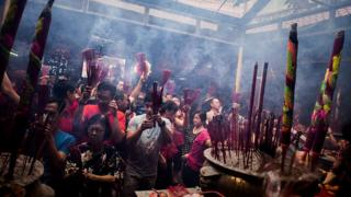 Perayaan Imlek di Jakarta