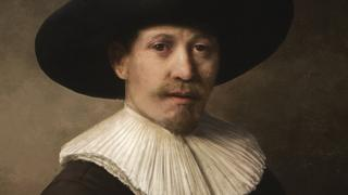 The painting was produced by a computer that had analysed existing Rembrandt works