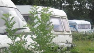 Traveller caravans