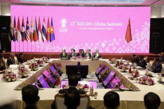 Thượng đỉnh ASEAN - Trung Quốc vừa diễn ra trong dịp Thượng đỉnh ASEAN đang diễn ra tại Thái Lan.