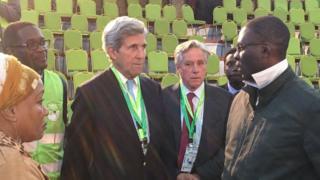 Aliyekuwa waziri wa maswala ya kigeni nchini Marekani John Kerry aliwakilisha kituo cha Carter Center katika uchaguzi wa Kenya