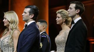 Donald Trump Jr e Jared Kushner