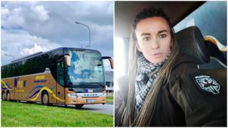 Автобус і Ярина Чорногуз