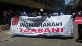 Maandamano ya waandishi wa habari wa kenya