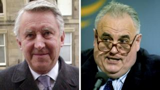 Lord Steel and Cyril Smith